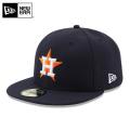☆15%OFFセール☆【メーカー取次】 NEW ERA ニューエラ 59FIFTY MLB On-Field ヒューストン・アストロズ ネイビー 11449371 キャップ