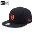 ☆20%OFFセール☆【メーカー取次】 NEW ERA ニューエラ 59FIFTY MLB On-Field デトロイト・タイガース ネイビー 11449373 キャップ