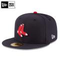 ☆まとめ割☆【メーカー取次】 NEW ERA ニューエラ 59FIFTY MLB On-Field ボストン・レッドソックス ネイビー 11449390 キャップ