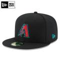 ☆まとめ割☆【メーカー取次】 NEW ERA ニューエラ 59FIFTY MLB On-Field アリゾナ・ダイヤモンドバックス ブラック 11449401 キャップ