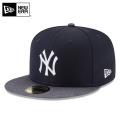 ☆まとめ割☆【メーカー取次】 NEW ERA ニューエラ 59FIFTY MLB On-Field バッティングプラクティス プロライト ニューヨーク・ヤンキース ネイビーXチャコール 11596243 キャップ 帽子