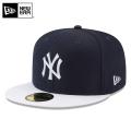 ☆まとめ割☆【メーカー取次】 NEW ERA ニューエラ 59FIFTY MLB On-Field バッティングプラクティス プロライト ニューヨーク・ヤンキース ネイビーXホワイト 11596247 キャップ 帽子
