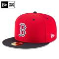 ☆まとめ割☆【メーカー取次】 NEW ERA ニューエラ 59FIFTY MLB On-Field バッティングプラクティス プロライト ボストン・レッドソックス 11596258 キャップ 帽子