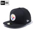 ☆ただいま15%割引中☆【メーカー取次】 NEW ERA ニューエラ 59FIFTY NFL ピッツバーグ・スティーラーズ ブラック 11596343 キャップ 帽子