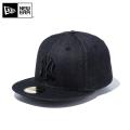 ☆まとめ割☆【メーカー取次】 NEW ERA ニューエラ 59FIFTY MLB ニューヨーク・ヤンキース ブラックデニム 11596349 キャップ 帽子