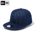 ☆まとめ割☆【メーカー取次】 NEW ERA ニューエラ 59FIFTY MLB ロサンゼルス・ドジャース インディゴデニム 11596354 キャップ 帽子