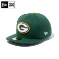 ☆ただいま15%割引中☆【メーカー取次】 NEW ERA ニューエラ 59FIFTY NFL グリーンベイ・パッカーズ シラントログリーン 11596358 キャップ 帽子