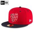 ☆まとめ割☆【メーカー取次】 NEW ERA ニューエラ 59FIFTY MLB On-Field ワシントン・ナショナルズ レッドXネイビー USフラッグ 11676930 キャップ 帽子