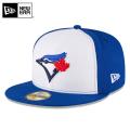 ☆まとめ割☆【メーカー取次】 NEW ERA ニューエラ 59FIFTY MLB On-Field トロント・ブルージェイズ ブルーXホワイト 11676932 キャップ 帽子