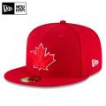 ☆まとめ割☆【メーカー取次】 NEW ERA ニューエラ 59FIFTY MLB On-Field トロント・ブルージェイズ レッド 11676933 キャップ 帽子