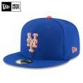 ☆まとめ割☆【メーカー取次】 NEW ERA ニューエラ 59FIFTY MLB On-Field ニューヨーク・メッツ ブルーXシルバー オレンジライン 11676934 キャップ 帽子