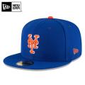 ☆まとめ割☆【メーカー取次】 NEW ERA ニューエラ 59FIFTY MLB On-Field ニューヨーク・メッツ ブルーXオレンジ ホワイトライン 11676935 キャップ 帽子