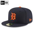 ☆ただいま15%OFF☆【メーカー取次】 NEW ERA ニューエラ 59FIFTY MLB On-Field デトロイト・タイガース ネイビーXオレンジ 11676936 キャップ 帽子