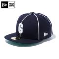 ☆ただいま15%割引中☆【メーカー取次】 NEW ERA ニューエラ 59FIFTY Negro Leagues ニグロリーグ ホームステッド・グレイズ 11781699 キャップ 帽子