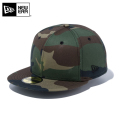 【メーカー取次】 NEW ERA ニューエラ Basic 59FIFTY ベーシック フラッグロゴ ウッドランドカモXブラックロゴ 11914552 キャップ 帽子