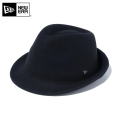 ☆ただいま15%割引中☆【メーカー取次】 NEW ERA ニューエラ Felt Hat The Trilby トリルビー ハット ブラック 12018888