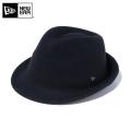 ☆10%OFF☆【メーカー取次】 NEW ERA ニューエラ Felt Hat The Trilby トリルビー ハット ブラック 12018888 帽子【Sx】