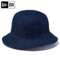 ☆ただいま15%割引中☆【メーカー取次】 NEW ERA ニューエラ Bucket-01 コットン バケットハット インディゴデニム 12018927 帽子