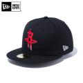 ☆ただいま15%割引中☆【メーカー取次】 NEW ERA ニューエラ 59FIFTY NBA ヒューストン・ロケッツ ブラック 12019018 キャップ 帽子