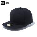 ☆ただいま15%割引中☆【メーカー取次】 NEW ERA ニューエラ Basic 59FIFTY ベーシック フラッグロゴ ブラックXブラックロゴ 12019024 キャップ 帽子