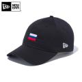 【メーカー取次】NEW ERA ニューエラ 9THIRTY Cloth Strap ナショナルフラッグ ロシア ブラック 12026720 キャップ 帽子