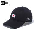 【メーカー取次】NEW ERA ニューエラ 9THIRTY Cloth Strap ナショナルフラッグ 日本 ブラック 12026722 キャップ 帽子
