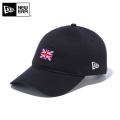 【メーカー取次】NEW ERA ニューエラ 9THIRTY Cloth Strap ナショナルフラッグ イギリス ブラック 12026724 キャップ 帽子