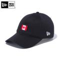 【メーカー取次】NEW ERA ニューエラ 9THIRTY Cloth Strap ナショナルフラッグ カナダ ブラック 12026725 キャップ 帽子