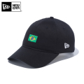 【メーカー取次】NEW ERA ニューエラ 9THIRTY Cloth Strap ナショナルフラッグ ブラジル ブラック 12026726 キャップ 帽子