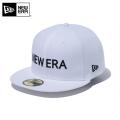 ☆ただいま15%割引中☆【メーカー取次】 NEW ERA ニューエラ 59FIFTY NEW ERA ブランドネーム ホワイトXブラック 12037932 キャップ 帽子