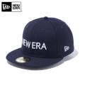 ☆ただいま15%割引中☆【メーカー取次】 NEW ERA ニューエラ 59FIFTY NEW ERA ブランドネーム ネイビーXホワイト 12037935 キャップ 帽子