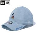 ☆大幅割引中!クリアランスバーゲン☆【即日出荷対応】NEW ERA ニューエラ 12109042 9THIRTY クロスストラップキャップ ディズニー ミッキーマウス ウォッシュドデニム 帽子