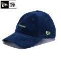 【即日出荷対応】NEW ERA ニューエラ 12109050 9THIRTY クロスストラップ コーデュロイ newera ミニロゴキャップ ネイビー 【Sx】 帽子