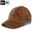 【即日出荷対応】NEW ERA ニューエラ 12109051 9THIRTY クロスストラップ コーデュロイ newera ミニロゴキャップ ライトブラウン【Sx】 帽子