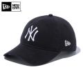 ★今だけカートで15%OFF割引★【メーカー取次】NEW ERA ニューエラ 9THIRTY Cloth Strap ウォッシュドコットン ニューヨーク・ヤンキース ブラック 12489158 キャップ【Sx】MLB