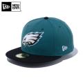 【メーカー取次】NEW ERA ニューエラ 59FIFTY NFL フィラデルフィア・イーグルス グリーンXブラック 12492040 キャップ【Sx】