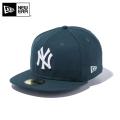 ☆10%OFF☆【メーカー取次】 NEW ERA ニューエラ 59FIFTY MLB ニューヨーク・ヤンキース ダークグリーンXホワイト 12492042 キャップ【Sx】