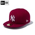 ☆10%OFF☆【メーカー取次】 NEW ERA ニューエラ 59FIFTY MLB ニューヨーク・ヤンキース カーディナルXホワイト 12492043 キャップ【Sx】