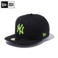 ☆10%OFF☆【メーカー取次】 NEW ERA ニューエラ 59FIFTY MLB ニューヨーク・ヤンキース ブラックXネオングリーン 12492046 キャップ【Sx】