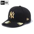 ★ただいま10%OFF割引★【メーカー取次】 NEW ERA ニューエラ MLB Pre-Curved 59FIFTY ニューヨーク・ヤンキース ブラックXゴールド 12746949 キャップ 【キャンペーン対象外】【T】
