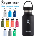 【ポイント2倍】HydroFlask ハイドロフラスク 5089011 ハイドレーション 12oz スタンダードマウス 保温ボトル【Sx】
