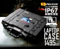 PELICAN ペリカン 1495CC1 Laptop Case 17インチノートPC対応 防水PCケース