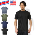 SOFFE ソフィー 1535MU MADE IN USA POLY BASE LAYER ショートスリーブ Tシャツ