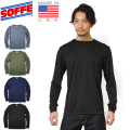 SOFFE ソフィー 1539MU MADE IN USA POLY BASE LAYER ロングスリーブ Tシャツ