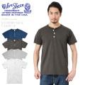 ☆ただいま15%割引中☆【ネコポス便対応】Velva Sheen ベルバシーン 161007 S/S ヘンリーネック Tシャツ MADE IN USA