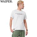 ☆今だけ20%OFF☆WAIPER.inc 1718000 S/S クルーネック STENCIL Tシャツ