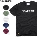 ☆まとめ割☆WAIPER.inc 1718004 S/S クルーネック プリント Tシャツ WAIPER LOGO