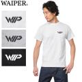 ☆サマーセール☆【即日出荷対応】WAIPER.inc 1718006 S/S クルーネック プリント Tシャツ WIP LOGO ★キャンペーン対象外★