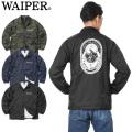 【即日出荷対応】WAIPER.inc 1819111 HANDSHAKE? NO-WAR バックロゴ ナイロン コーチジャケット【Sx】