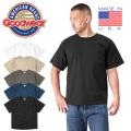 【ネコポス便対応】Goodwear グッドウェア GDW-001-191001 レギュラーフィット S/S クルーネック ポケットTシャツ MADE IN USA